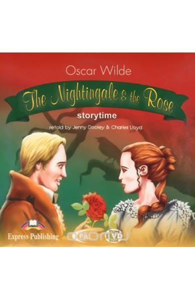 LITERATURA ADAPTATA PT. COPII THE NIGHTINGALE AND THE ROSE DVD ROM 978-1-84466-195-4