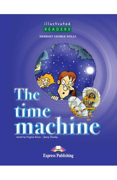 LITERATURA ADAPTATA PT. COPII BENZI DESENATE THE TIME MACHINE 978-1-84679-442-1