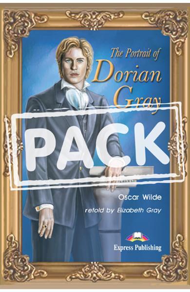 LITERATURA ADAPTATA PT. COPII THE PORTRAIT OF DORIAN GRAY PACHET ELEV ( CARTE + AUDIO CD ) 978-1-84466-808-3