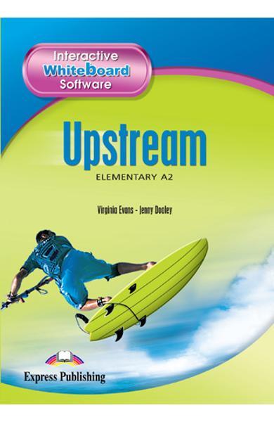 Curs limba engleza Upstream Elementary Software pentru tabla magnetica interactiva 978-1-84679-680-7