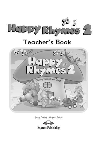 Curs limba engleză Happy Rhymes 2 Manualul profesorului