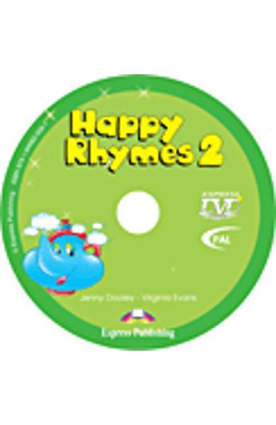 Curs limba engleză Happy Rhymes 2 DVD