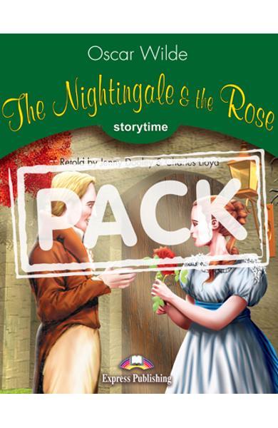 Literatura adaptata pt.copii -The Nightingale and the Rose: Carte + MULTI-ROM 978-1-84974-408-9