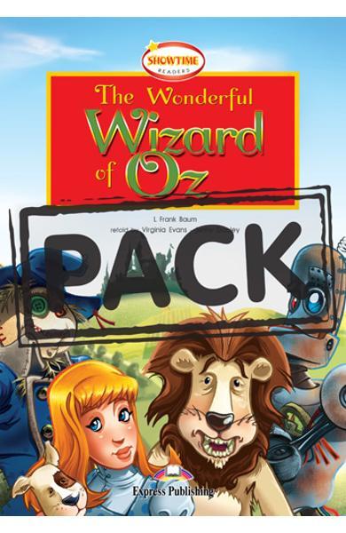 Literatura adaptata pt. copii - The wonderful wizard of Oz: Set: Carte + MULTI-ROM 978-0-85777-067-7