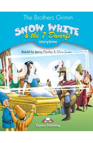 LITERATURA ADAPTATA PT. COPII SNOW WHITE AND THE SEVEN DWARFS SET CU MULTI-ROM ( CARTE + MULTI-ROM ) 978-1-84974-308-2