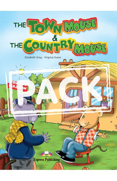 LITERATURA ADAPTATA PT. COPII THE TOWN MOUSE AND THE COUNTRY MOUSE SET MULTI-ROM 978-1-84974-188-0
