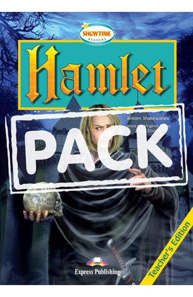 LITERATURA ADAPTATA PT. COPII HAMLET SET CU AUDIO CD ( CARTE + AUDIO CD ) 978-1-84679-380-6