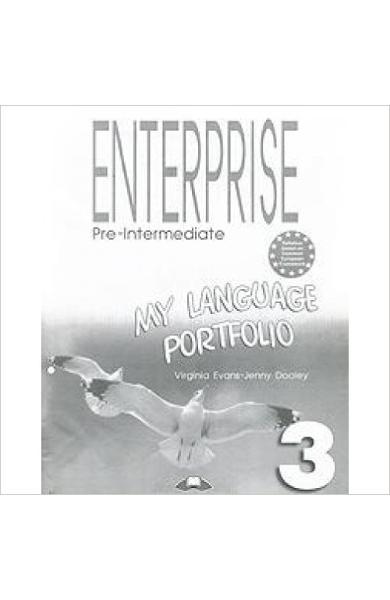 Curs limba engleză Enterprise 3 My Language Portfolio 978-1-84466-956-1