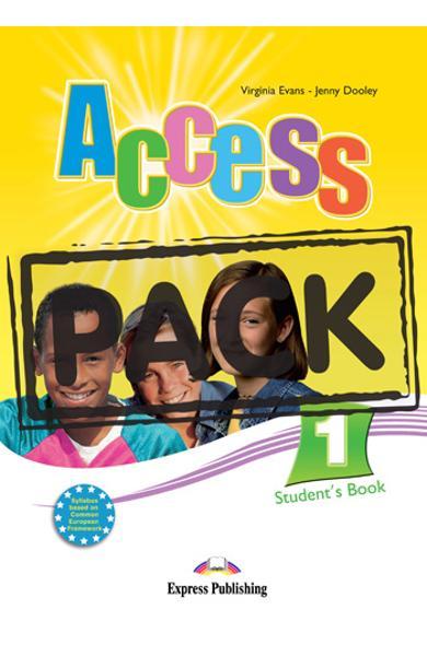 Curs limba engleza Access 1 Pachetul elevului cu ieBook