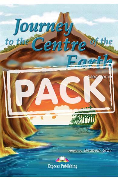 LITERATURA ADAPTATA PT. COPII JOURNEY TO THE CENTRE OF THE EARTH SET CU CD ( CARTE + AUDIO CD ) 978-1-84466-770-3