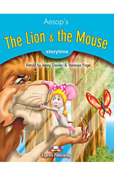 Literatura adaptata pt.copii - The Lion and the Mouse - Set: Carte + MULTI-ROM 978-1-84974-262-7