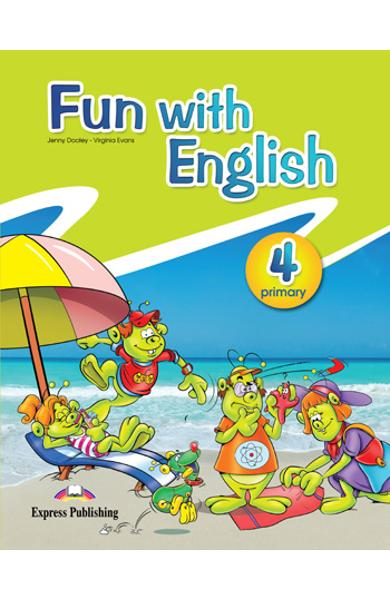 Fun with english 4 pachetul elevului ( set cu multi - rom) 978-0-85777-739-3