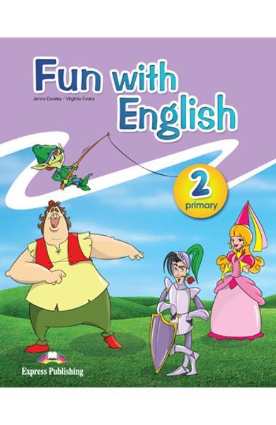 Fun with english 2 pachetul elevului ( set cu multi - rom)  978-0-85777-737-9