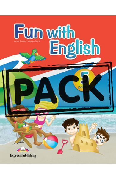 Fun with english 5 pachetul elevului ( set cu multi - rom)