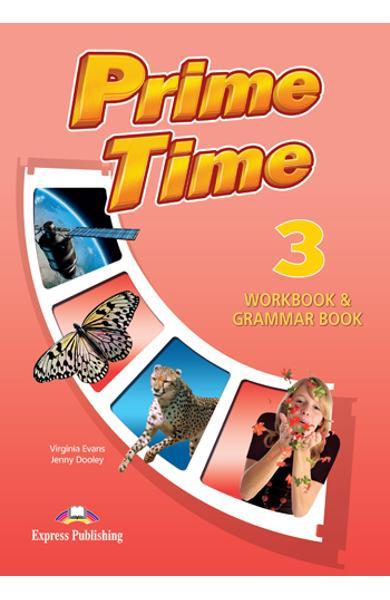 Curs limba engleză Prime Time 3 Caiet şi gramatică