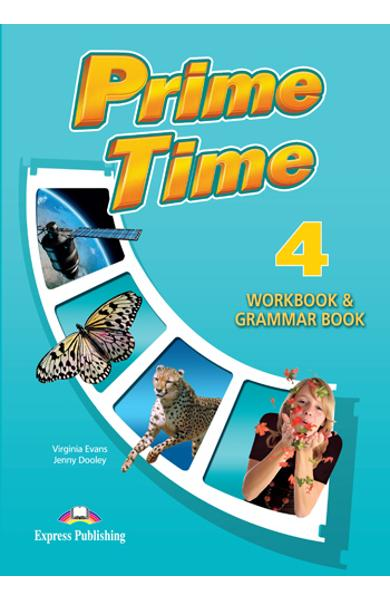 Curs limba engleză Prime Time 4 Caiet şi gramatică
