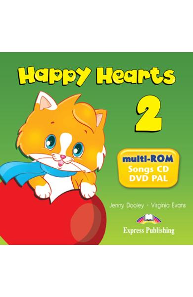 Curs lb. engleza Happy Hearts 2 - MULTI-ROM 978-1-78098-821-4
