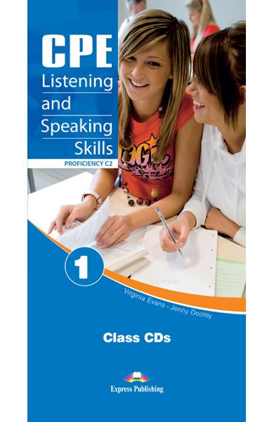 Teste limba engleză CPE Listening and Speaking 1 Audio CD (set 6 CD)