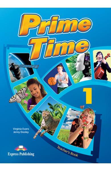 Curs limba engleză Prime Time 1 Manualul profesorului