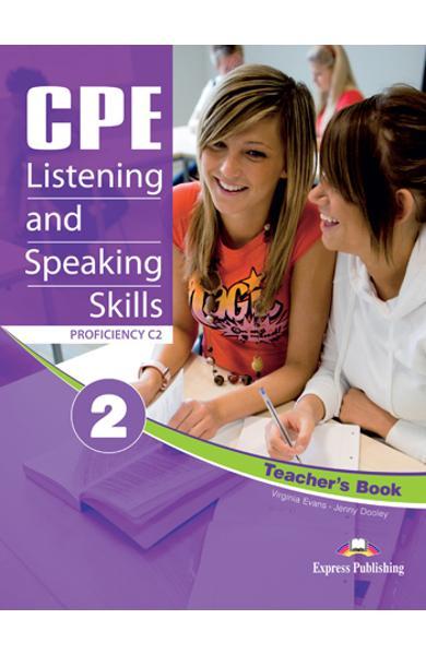 CURS LB. ENGLEZA EXAMEN CAMBRIDGE CPE LISTENING AND SPEAKING SKILLS 2 MANUALUL PROFESORULUI (REVIZUIT 2012) 978-1-4715-0488-4
