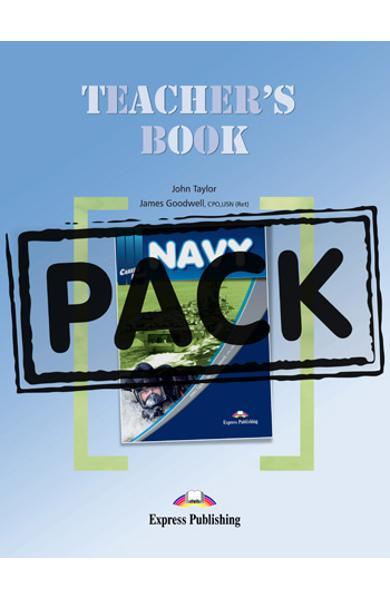 Curs limba engleză Career Paths Navy - Pachetul profesorului