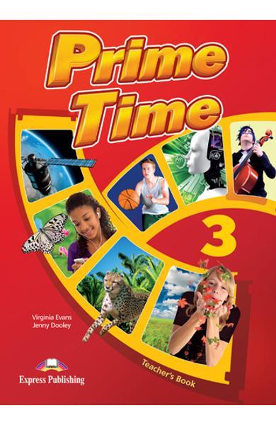 Curs limba engleză Prime Time 3 Manualul profesorului