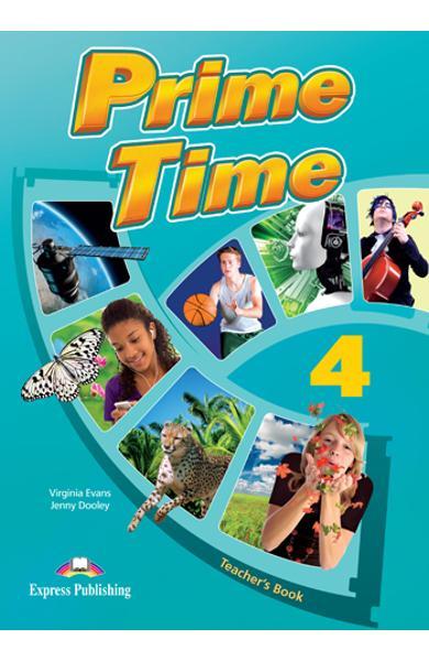 Curs limba engleză Prime Time 4 Manualul profesorului
