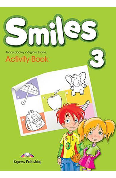 Curs Lb. Engleză Smiles 3 Caietul elevului