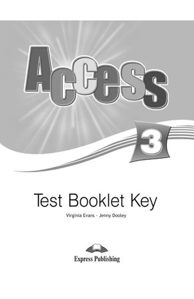 Curs limba engleză Access 3 Cheie la teste