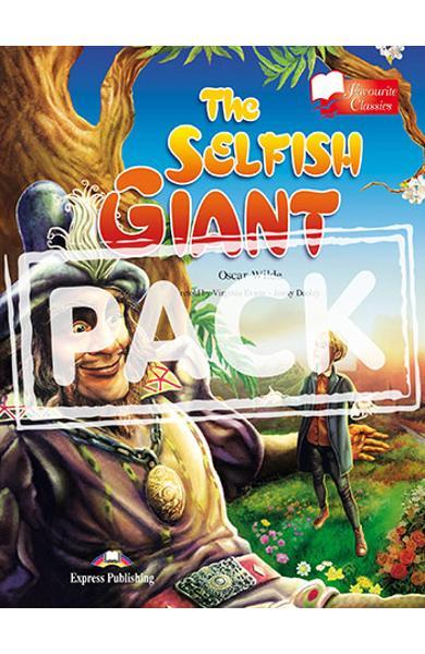 LITERATURA ADAPTATA PT. COPII THE SELFISH GIANT SET CU AUDIO CD ( CARTE + AUDIO CD ) 978-1-84862-995-0