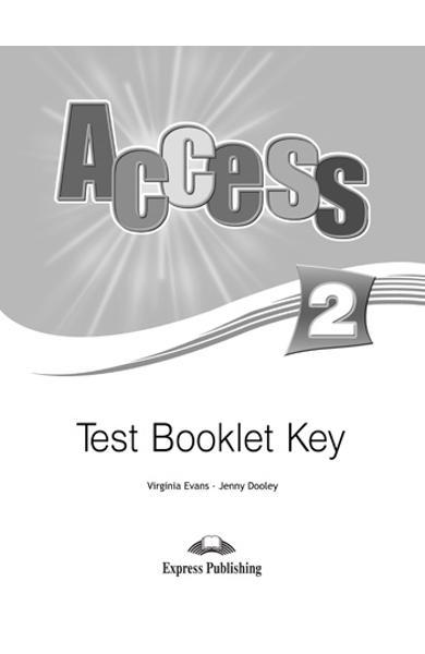 Curs limba engleză Access 2 Cheie la teste