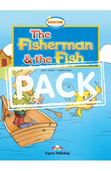 Literatura adaptata pt. copii - The Fisherman and the Fish pachetul elevului 978-1-84974-159-0