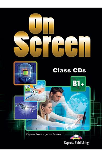 Curs limba engleză On Screen B1+ Audio CD la manual (set of 4) (revizuit 2015)