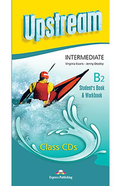 Curs lb. engleza Upstream Intermediate B2 Audio CD la manual si caiet (set 5 CD-uri) (revizuit 2015) 978-1-4715-2389-2