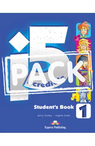 Curs limba engleza Incredible 5 1 Manualul Elevului cu ieBook 978-1-4715-1421-0
