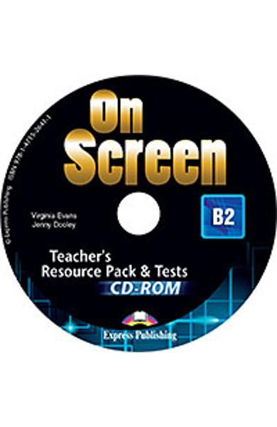 Curs limba engleza On Screen B2 Material Aditional pt. Profesor cu teste CD-Rom (revizuit 2015)