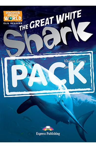 Literatura CLIL The Great White Shark Pachetul profesorului (reader cu cross-platform APP. + TB pe CD-ROM) 978-1-4715-1654-2