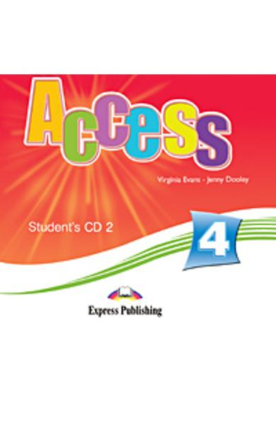 CURS LB. ENGLEZA ACCESS 4 AUDIO CD 2 ELEV 978-1-84862-236-4
