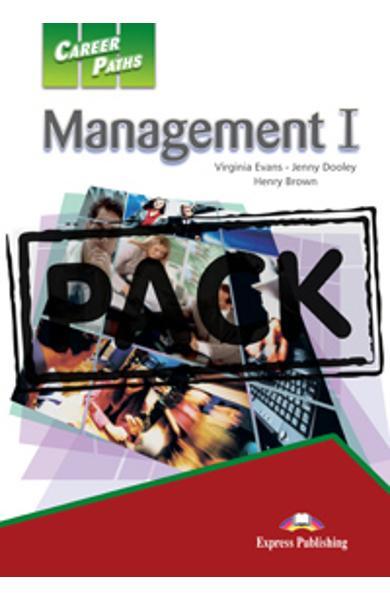 Curs limba engleză Career Paths Management I - Pachetul elevului