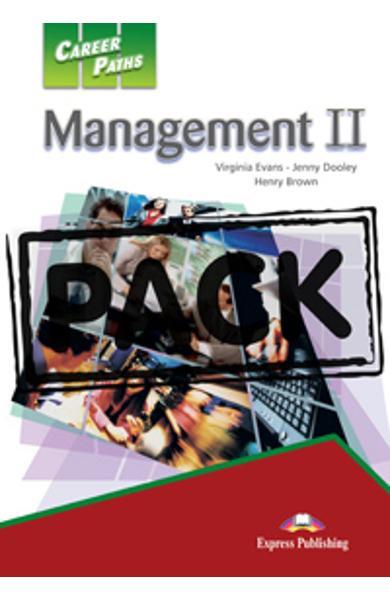 Curs limba engleză Career Paths Management II - Pachetul elevului