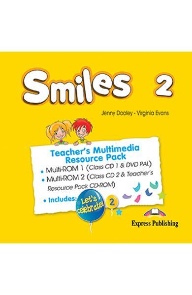 Curs Lb. Engleza Smiles 2 Material aditional ptr. profesor Pachet Multimedia