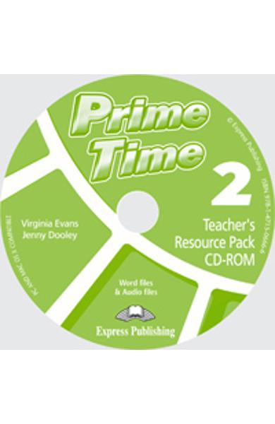 Curs limba engleza Prime Time 2 Material Aditional pt. Profesor CD-Rom 978-1-4715-0666-6