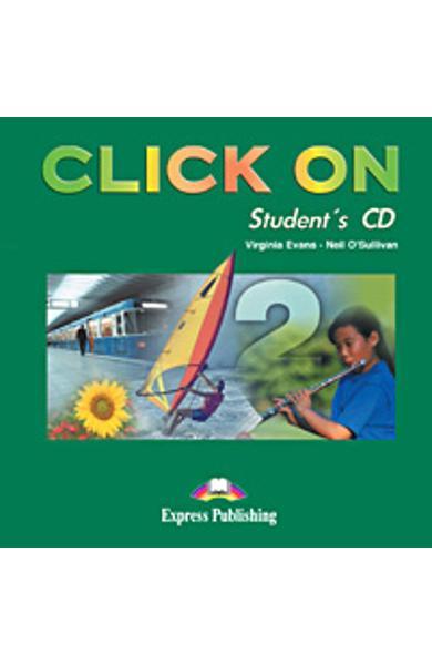 Curs limba engleza Click On 2 Audio CD elev 978-1-84216-715-1