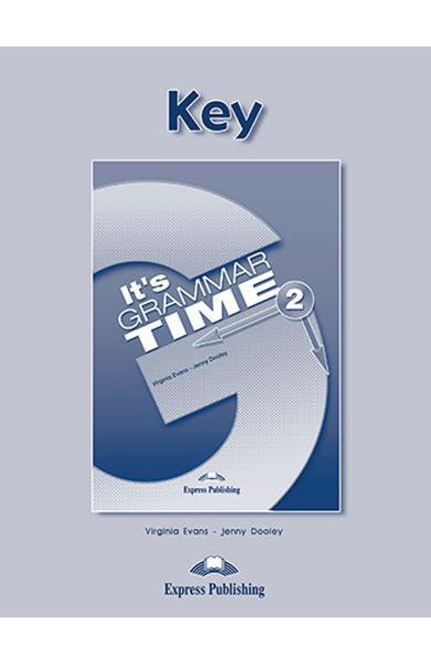 Curs de gramatică limba engleză It's Grammar Time 2 Cheie la manual