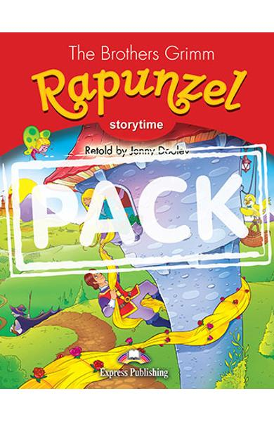 LITERATURA ADAPTATA PT. COPII RAPUNZEL SET CU AUDIO CD SI DVD ( CARTE + AUDIO CD + DVD ) 978-1-4715-3695-3