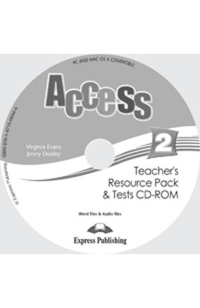 Curs limba engleza Access 2 Material Aditional ptr. Profesor CD-ROM cu Teste