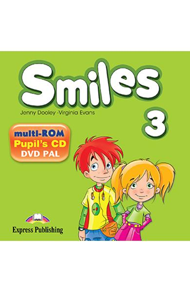 Curs limba engleza Smiles 3 Multi-ROM 978-1-78098-746-0