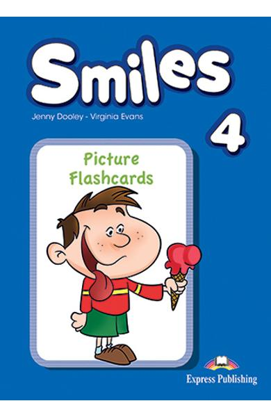 Curs Lb. Engleza Smiles 4 Picture Flashcards 978-1-78098-760-6