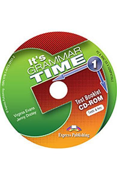 Curs de gramatica limba engleza It's Grammar Time 1 Teste CD-ROM