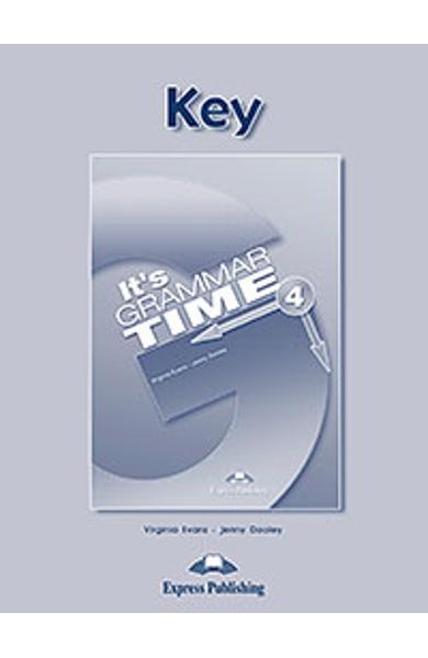 Curs de gramatică limba engleză It's Grammar Time 4 Cheie la manual